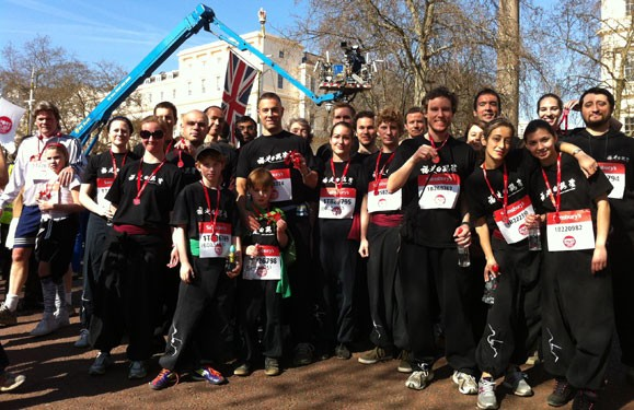 FWC team run the Sport Relief Mile