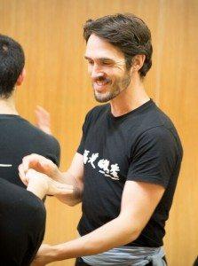 Richard Wagstaff, FWC Kung Fu Instructor, teaching a class