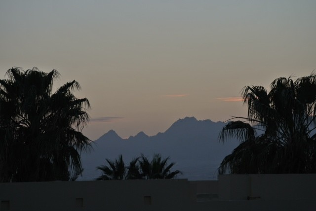 Luxor is beyond the mountains