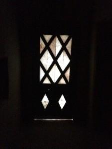 Salt window door