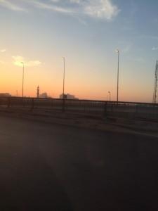 Dawn over Cairo