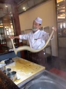 Hand pulled Lantian noodles