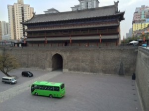The East Gate of Xi'An City Wall