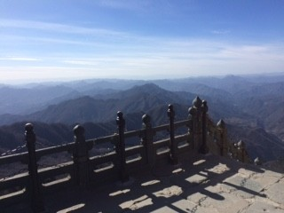 View from Golden Peak of Wudang Mountain