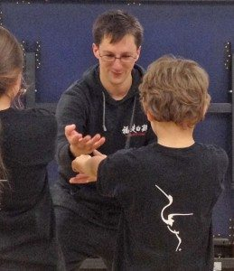 FWC Instructor Adam Prout teaching a children's class