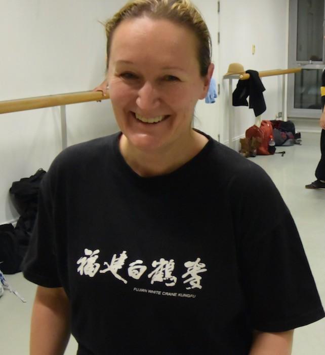 Savina Geerinckx training at FWC Camden
