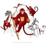 Fujian White Crane Kung Fu Club Year of the Monkey image