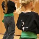 FWC Instructor Richard Wagstaff teaching a children's Kung Fu class