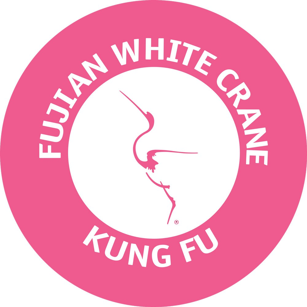 International Women's Day version of the Fujian White Crane Kung Fu Club logo