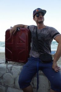 A Superhero and his Luggage are reunited - tears everywhere.