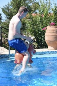 Classical donkey diving