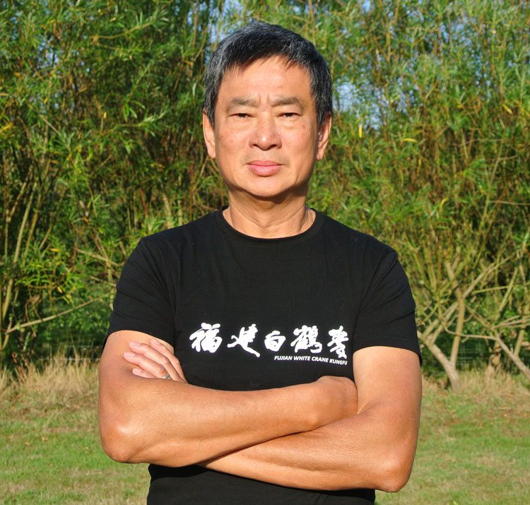 Dennis Ngo, Chief Instructor, Fujian White Crane Kung Fu & Tai Chi Martial Arts, having recovered from serious illness