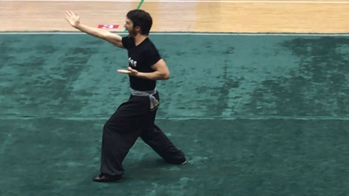 2016 Shaolin Invitational - Richard Wagstaff, Instructor, Fujian White Crane Kung Fu & Tai Chi Martial Arts