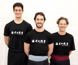 Richard Wagstaff. Joshua Villar, Carmine Pariante, Fujian White Crane Kung Fu & Tai Chi Club.