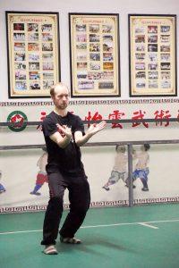 Crofton Black, training in Yongchun China November 2017. Crofton Black is an Instructor of the Fujian White Crane Kung Fu & Tai Chi Martial Arts Club (FWC Kung Fu).