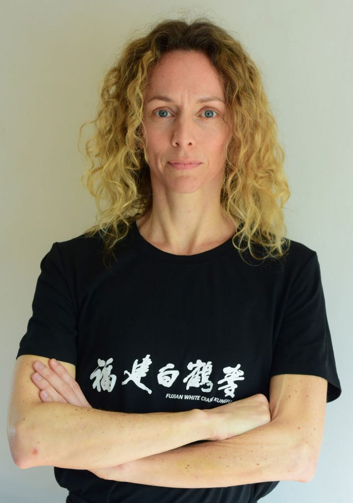 Kitty Erickson, Instructor, Fujian White Crane Kung Fu and Tai Chi Martial Arts Club